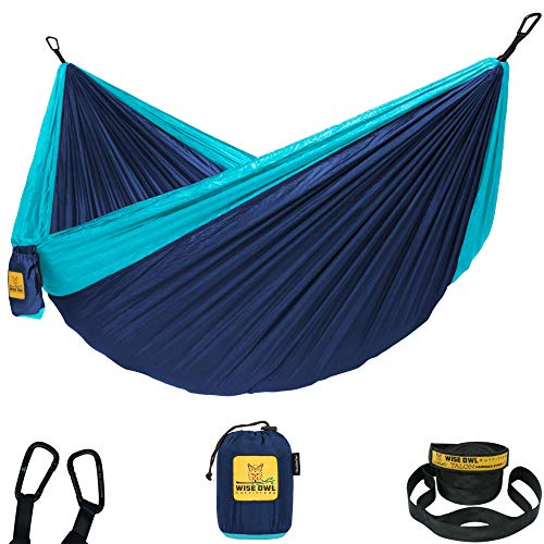 Wise Owl Outfitters Hammock Camping Double & Single with Tree Straps - USA Based Hammocks...