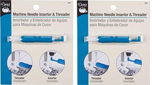 Dritz Machine Needle Inserter and Threader (2 Pack)