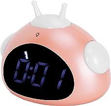 Väckarklocka, söt husdjur väckarklocka, sovrum hem sängklocka, födelsedag julklappar för barn