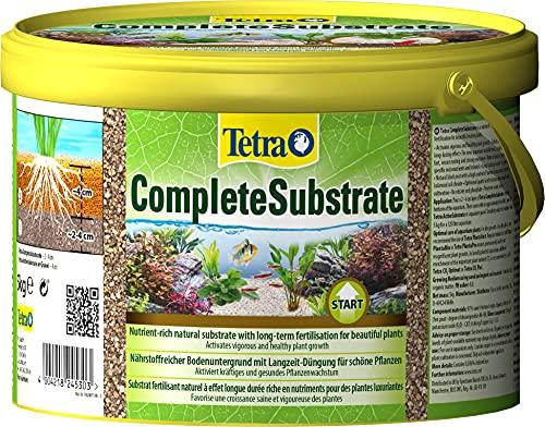 Tetra CompleteSubstrate 5 kg - Sustrato rico en nutrientes con fertilizante de liberación lenta para unas plantas hermosas