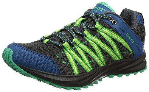 HI-TEC Men's Trail Running Shoes, Black Black Corsair Blarney 026, 46