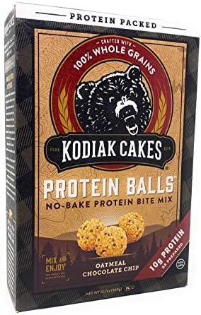 Kodiak Cakes Oatmeal Chocolate Chip Protein Balls 12 7oz 1 box product image