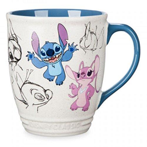 Taza de Stitch and Angel de Lilo & Stitch, colección Disney Classics