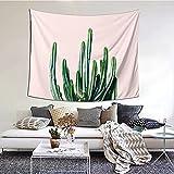 Tapices-Cactus V6 #Redbubble # Tapiz Art Deco de estilo de vida en el dormitorio, la pared, la sala de estar y el dormitorio 152 * 130cm