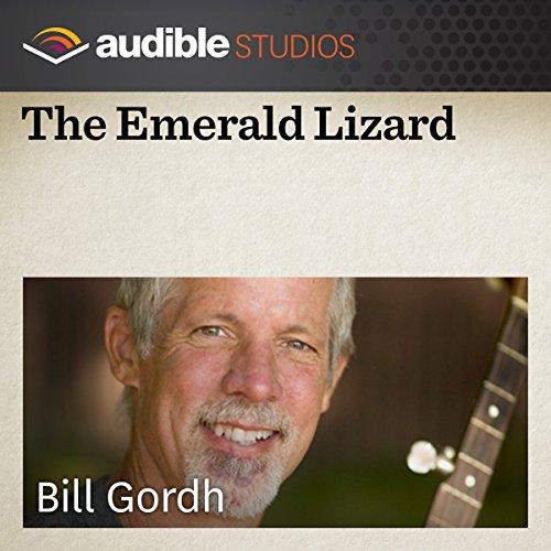 The Emerald Lizard audiobook cover art
