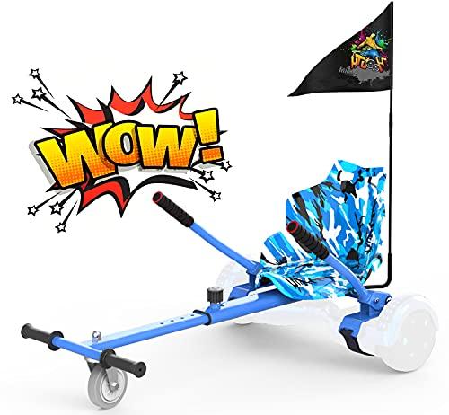 RCB Hoverkart para Patinete eléctrico Asiento Kart para Self Balancing Scooter Longitud...