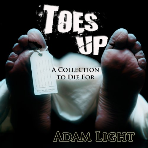 Toes Up audiobook cover art