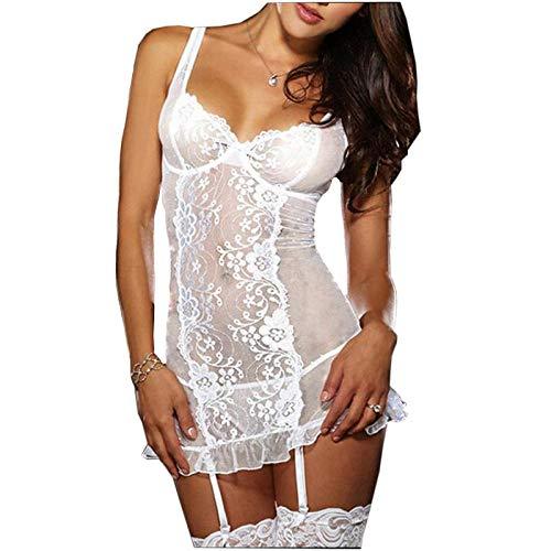 Conjuntos de lencería para mujer Ropa de dormir para mujer muñeca de las mujeres lencería sexy novia blanca caliente vestido de novia uniformes porno lencería erótica mujeres cosplay disfraces sexy r