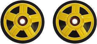 PDD Outside Rear Yellow Idler Wheels Kit for Snowmobile BOMBARDIER/SKI-DOO All models RF/RT 2005-2007