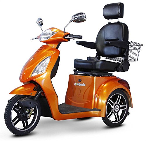 Sale!! 3-Wheel Scooter with Electromagnetic Brakes in Orange