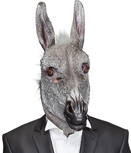 Orlob Kostüm Zubehör Maske Esel zu Karneval Fasching Party