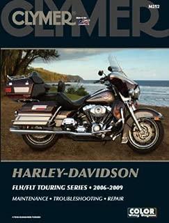 M252 Clymer Harley-Davidson FLH FLT Electra Glide Road King 2006-2009 Motorcycle Repair Manual