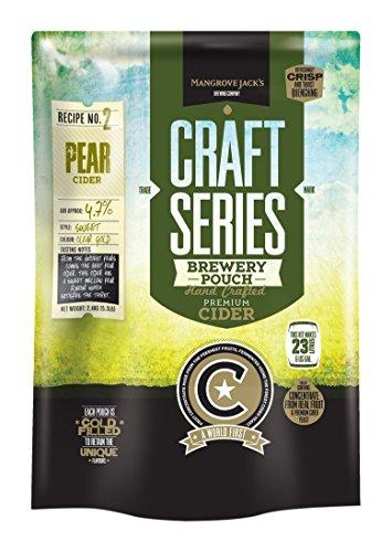 Mangrove Jack's Hard Pear Cider Recipe Kit, 6 gallons/23 L