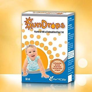 Synergy Sundrops Vitamin D3 400 I.U 50 ml
