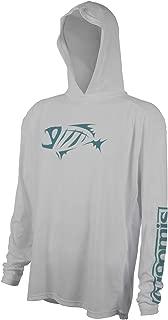 Loomis G Skeleton Fish Logo Long Sleeve Tech Hoodie