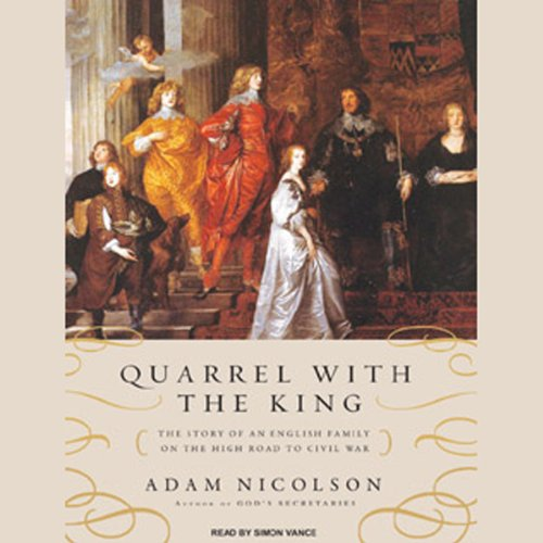 Quarrel with the King audiobook cover art
