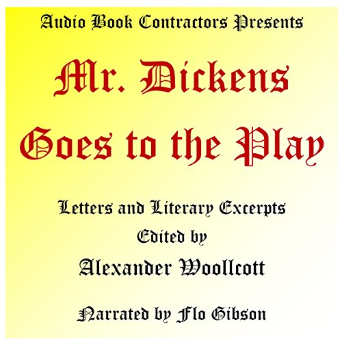 Mr. Dickens Goes to the Play cover art
