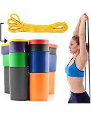 CKB LTD Mobility Resistance Band Yellow 0.8cm 2-7kg Single Band for Assisted Pulling Up Stretch Gym Fitness Calisthenics Gymnastics Loop Strength Training Ideal for Men Women Exercises