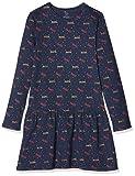 ZIPPY Ls Jersey Dress Robe, Bleu (19/4024tcx/Dress Blue 2339|1023712), 4 Ans (Taille Fabricant: 3/4) Fille