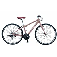 MERIDA(メリダ) CROSSWAY 50 700x35C クロスバイク 38cm モカブラウン/アルミフレーム/フロント3速×リア7速/スタンド標準装備 AMW5-382-EY02