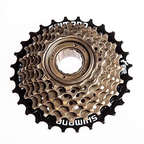 ZUKKA Shimano Tourney 7-Speed Freewheel MF-TZ500-7,14-28 T Multiple Freewheel-Threaded Type Hub Bike Accessories