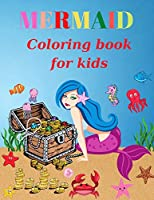 Mermaid Coloring Book For Kids: Ages 4-8(Coloring Books for Kids)