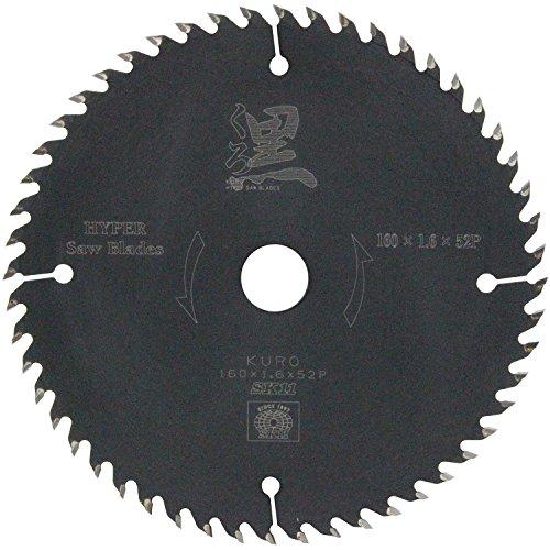 SK11 木工用チップソー くろ 160×52P