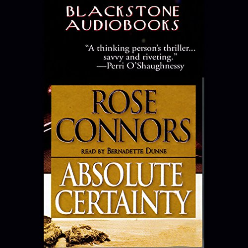 Absolute Certainty audiobook cover art