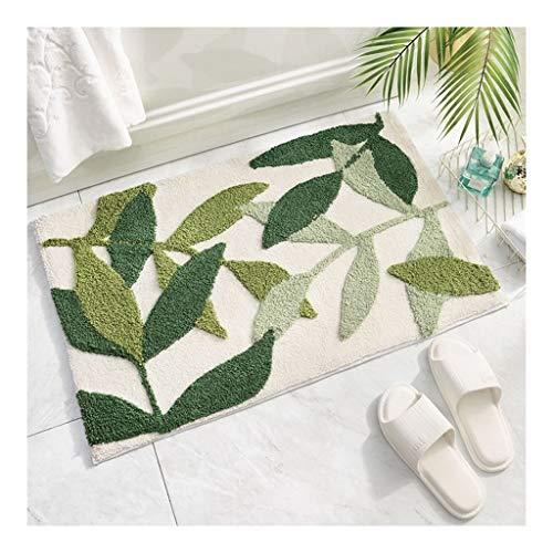 Non Slip Carpet Deurmat Entrance Mat vloermatten Rug Binnen/Buiten/Voordeur/badkamer Mats Deurmat Buiten Extra Duurzaam (Color : Bamboo of Maolin, Size : 45 * 65cm)