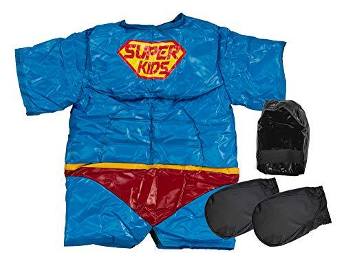 S.A Sumos Super Helden kostuum voor kinderen, uniseks, meerkleurig, 2 stuks