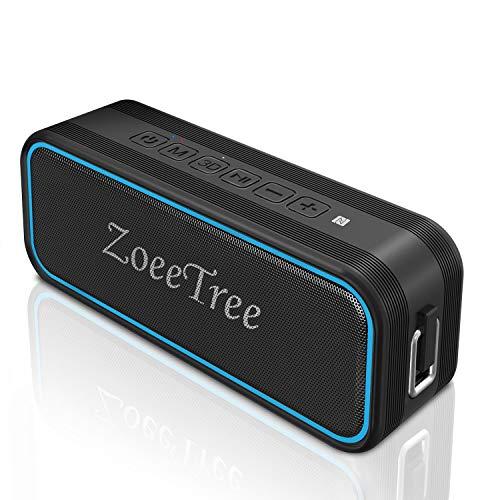 ZoeeTree S11 Bluetooth 5.0, Altavoces Bluetooth con estéreo