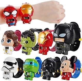 Disney Toys Watch Mickey Mouse Transformer Ninja Turtle hello kitty Star wars (Star wars black)