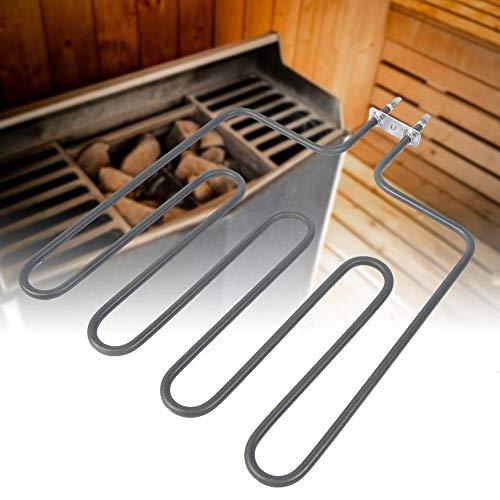 Alinory Elemento de la Estufa de la Sauna, Tubo de la Sauna del Acero Inoxidable Resistente a la corrosión confiable, Hotel casero(SCA-2000W)