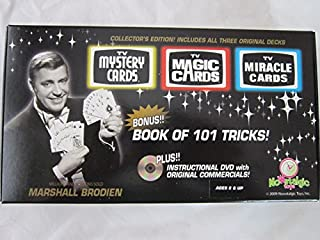 Nowstalgic Toys Collector's Edition! 3 Decks-TV Magic Cards + TV Mystery & Miracle CARDS-30% Off!!