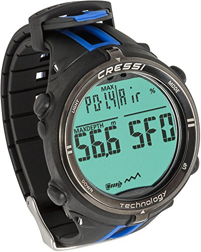 commercial cressi dive watch Cressi Newton Diving Computer Black Blue