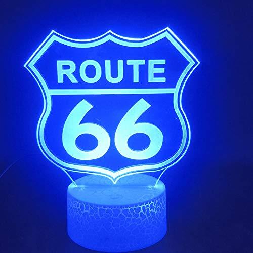 XDOUBAO 3D Table Lamp Eiffel Tower Night Light Paris France Study Suprise-01_Grieta con Control Remoto