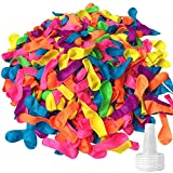 Hibery 500 Pack Water Balloons, Latex Water...