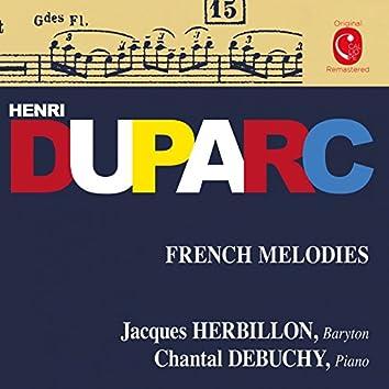 Duparc: Mélodies françaises