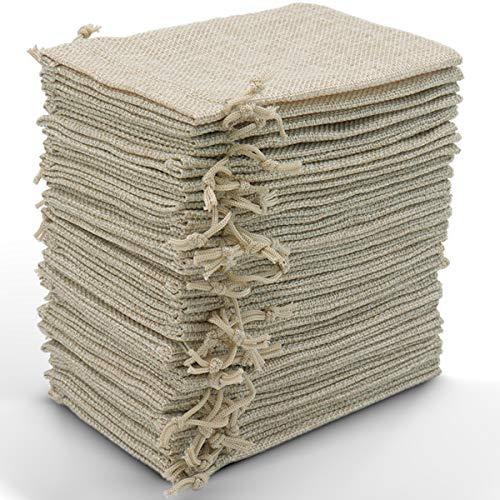 Leeyunbee 30PCS 10x15cm Bolsas de Yute, Bolsitas de Yute, Sacos de Yute,...