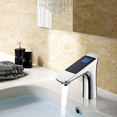 tougboo Amazing Termostato Temperatura Controllo digitale Smart Touch rubinetto risparmio di acqua termostato rubinetto Chrome