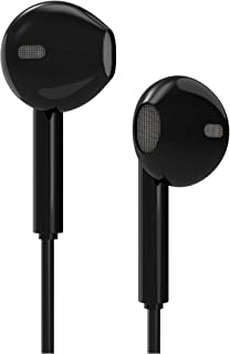 EB500 - Astrum USB-C Stereo Earphones with Mic - DAC - Black