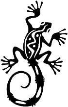 Ojyfa 11 X 17.3Cm Gecko Lizard Salamanders Decor Car Modelling Stickers Accessories Motorcycle 3 Pcs