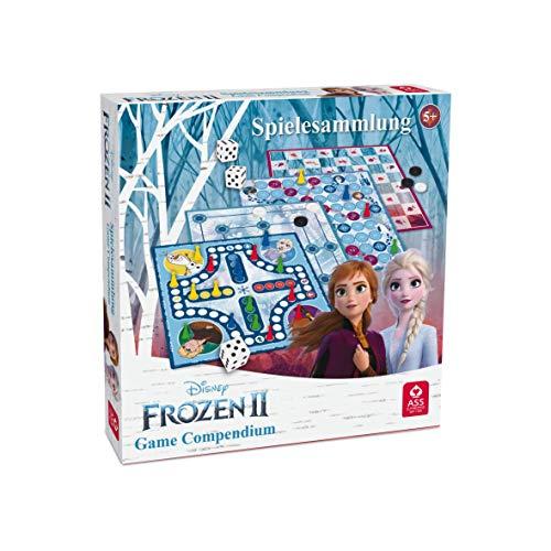 Disney Die Eiskönigin 2 Spielesammlung von ASS Altenburger, mit tollen Brettspielen zum neuen Film für Kinder und alle Eiskönigin Fans ab 5 Jahren