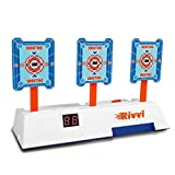 RSON Compatible for Nerf-Targets-for-Shooting for Kids, Auto Reset Digital Target Accessories Compatible for Nerf-Guns-for-Boys Rival Zombie Strike Modulus Sniper Mega Elite as Christmas Toys Gifts