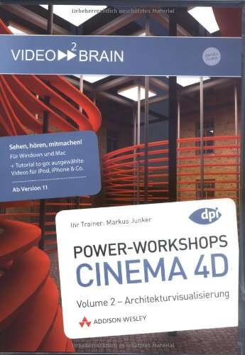 Power-workshops Cinema 4D 11 - Vol 2 [import allemand]