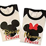 Matching Daddy and Mommy Mickey Mouse Raglan...