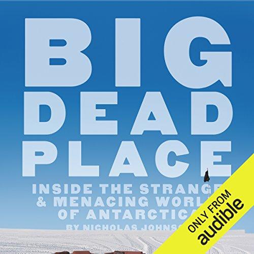Big Dead Place audiobook cover art