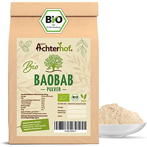 Baobab Pulver Bio | 1kg | Affenbrotbaum Fruchtpulver | 100{1f12df3e8f1886e2bb7357118da55db511e21a3292500a3fbb9919eb74ad658a} reines Baobabpulver