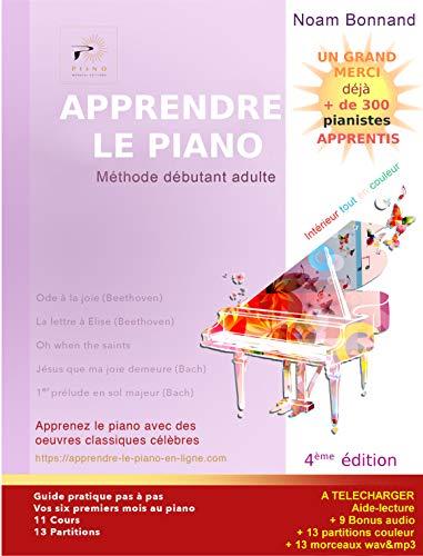 APPRENDRE LE PIANO: Méthode débutant adulte
