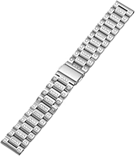 BONSTRAP unisex stainless steel watch band strap replacement bracelet 22mm optional color
